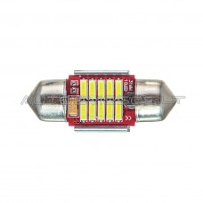 31mm Canbus 4014 SMD 10 LED Lemputė