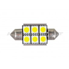 36mm Canbus 6 5050 SMD LED Lemputė
