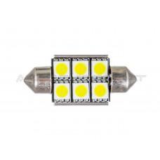 36mm Canbus 6 5050 SMD LED Lemputė