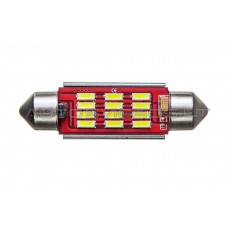 42mm Canbus 4014 SMD 12 LED Lemputė