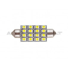 42mm Canbus 3528 SMD 16 LED Lemputė