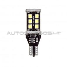 W16W T15 Canbus 2835 SMD 15 LED Lemputė