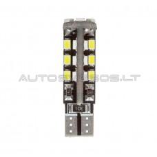 W5W T10 Canbus 3528 SMD 30 LED Lemputė
