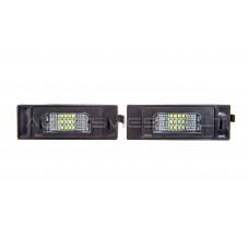 BMW E63 E64 E81 E87 E85 E86 Z4 LED Numerio Apšvietimo Lempos