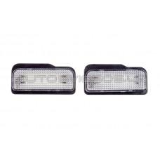 Mercedes Benz W211 W219 18 LED Numerio Apšvietimo Lempos