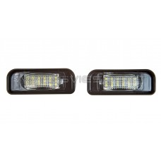 Mercedes Benz W220 18 LED Numerio Apsvietimo Lempos
