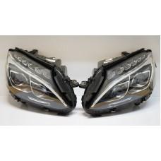 Mercedes Benz W205 S205 C205 A2059068701 A2059068801 LED Žibintai